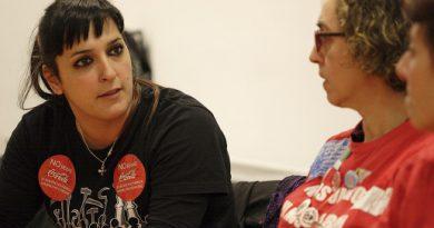 Idoia Armendáriz, trabajadora y luchadora