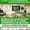 COMUNICADO DE LAS CUPS MADRID SUR EN APOYO A LA HUELGA EDUCATIVA 26-O