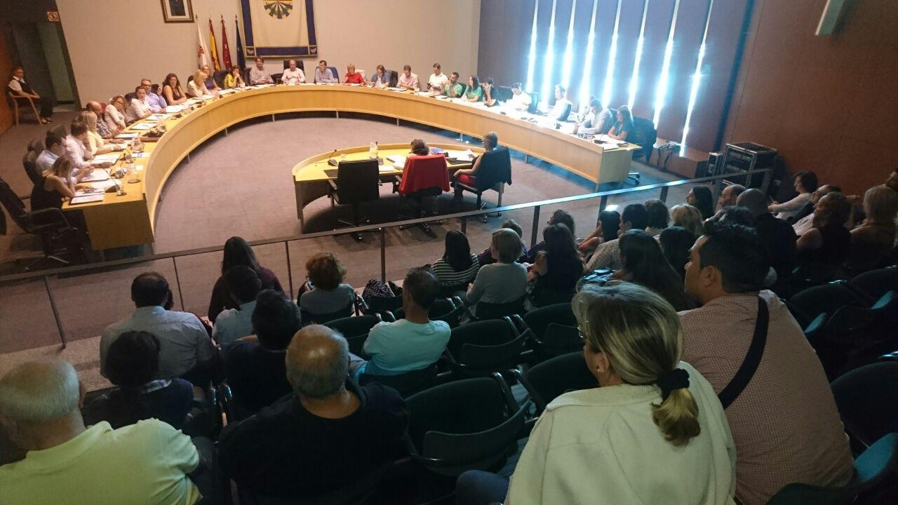 Pleno municipal de octubre